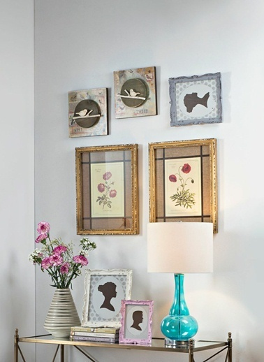Warm Design MDF Kuş Desenli Duvar Dekoru Kahve